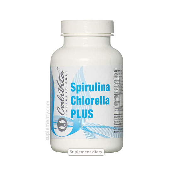 spirulian chlorella plus